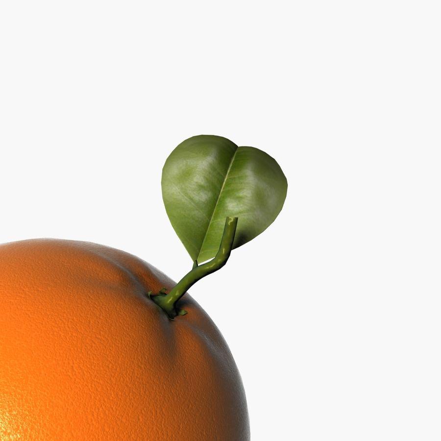 Orange frukt royalty-free 3d model - Preview no. 9