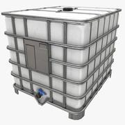 IBC 컨테이너 3d model
