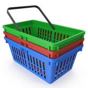 Shopping Basket(1) 3d model