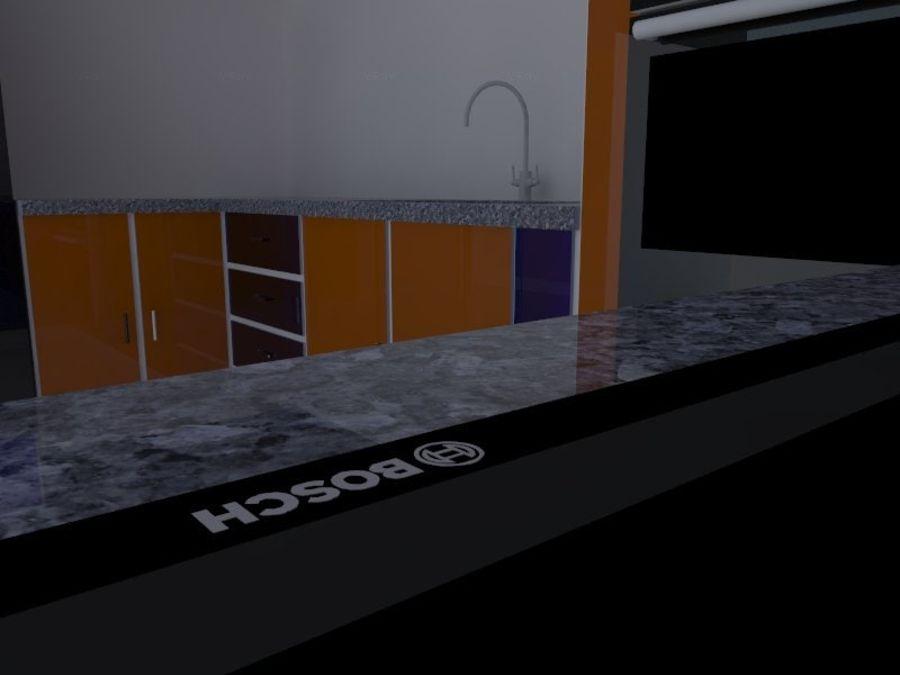 厨房设计 royalty-free 3d model - Preview no. 4