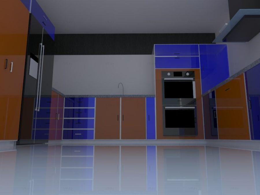 厨房设计 royalty-free 3d model - Preview no. 3