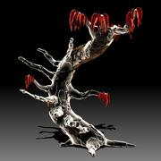 Benzersiz ağaç 3d model