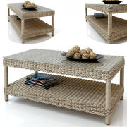 Rattan table journal 3d model