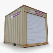 contenedores de envío modelo 3d