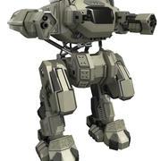 Battle mech Rebel 3d model