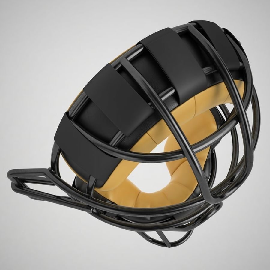 Catchers Face Mask 04 royalty-free 3d model - Preview no. 15