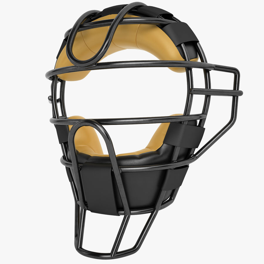 Catchers Face Mask 04 royalty-free 3d model - Preview no. 1