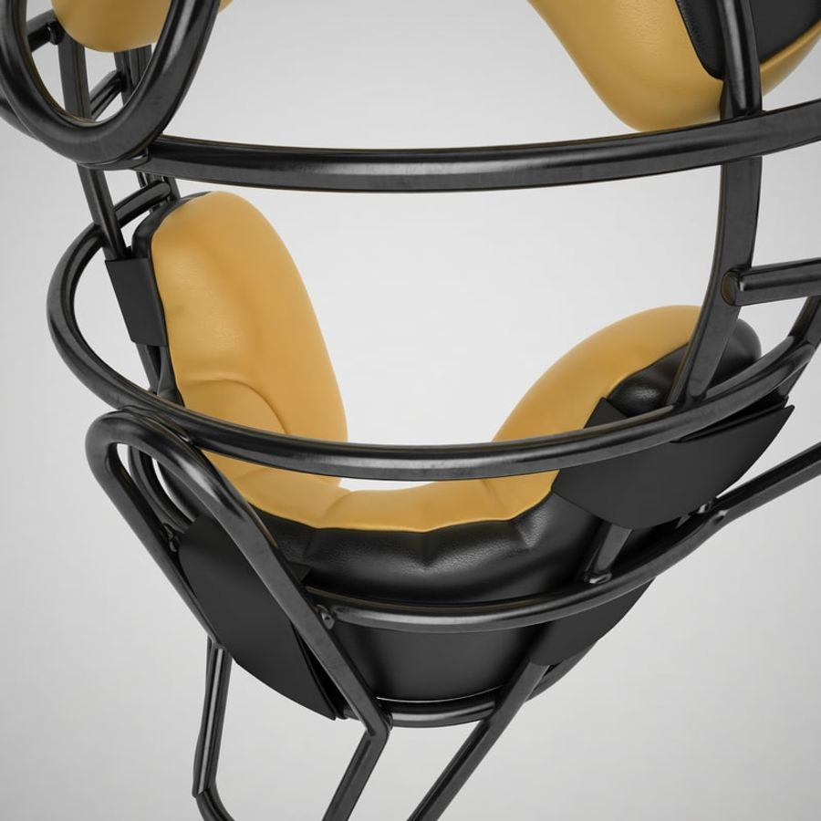Catchers Face Mask 04 royalty-free 3d model - Preview no. 19