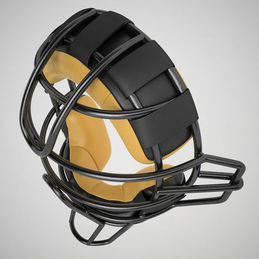 Catchers Face Mask 04 royalty-free 3d model - Preview no. 9
