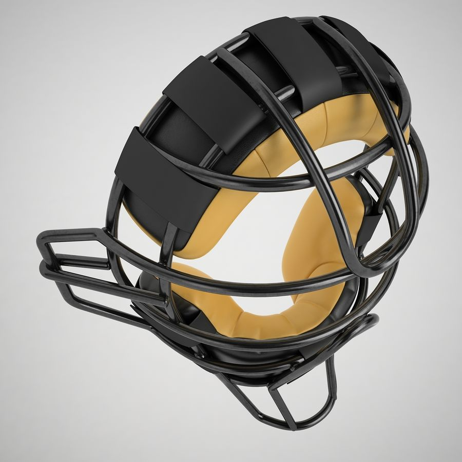 Catchers Face Mask 04 royalty-free 3d model - Preview no. 7