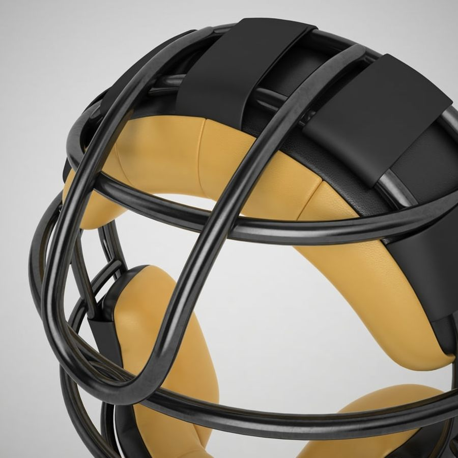 Catchers Face Mask 04 royalty-free 3d model - Preview no. 21