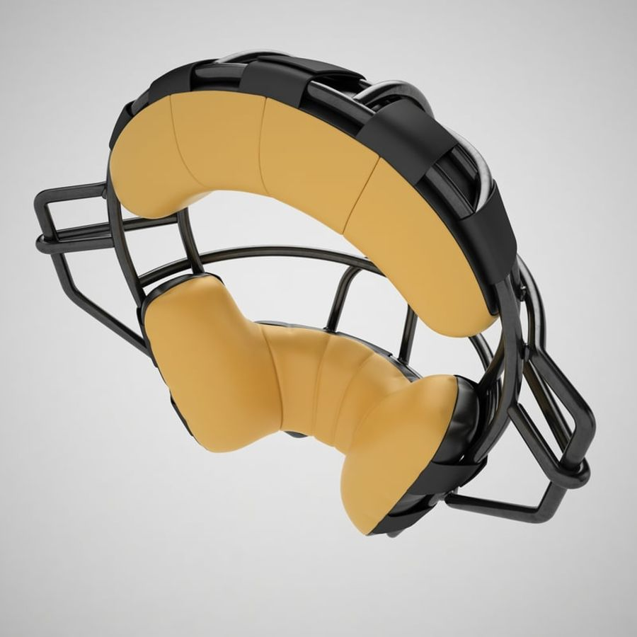 Catchers Face Mask 04 royalty-free 3d model - Preview no. 13