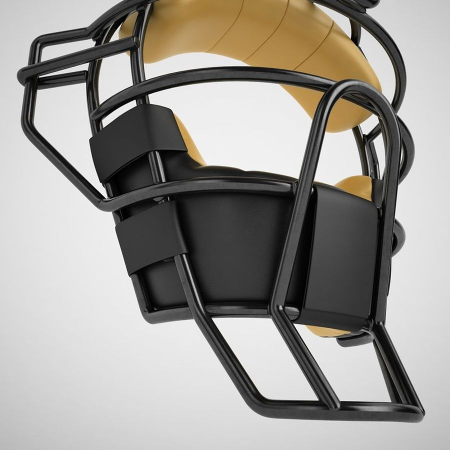 Catchers Face Mask 04 royalty-free 3d model - Preview no. 17