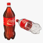 2 Liter Coke Bottle 3d model