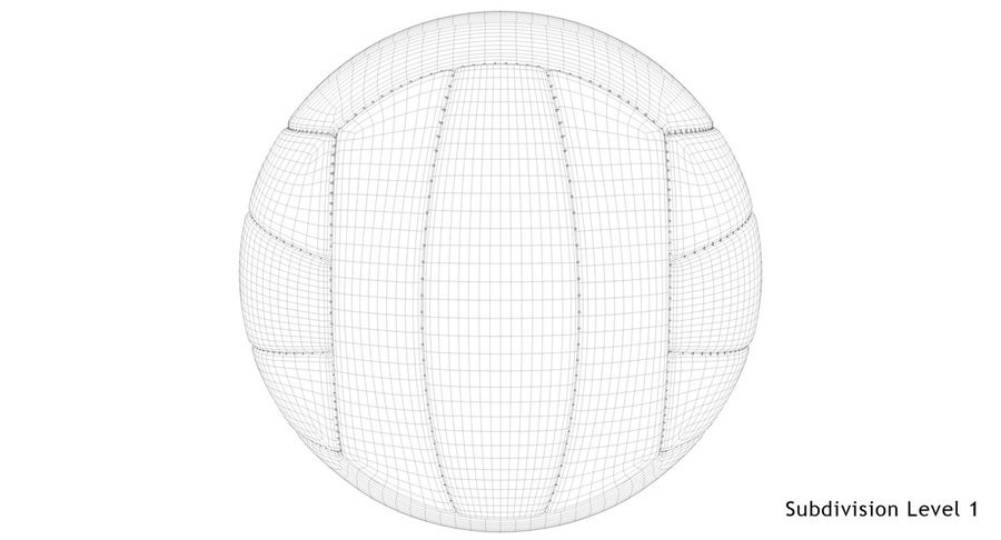 Mikasa Volleyball royalty-free 3d model - Preview no. 18