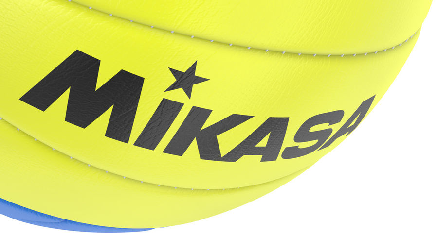 Mikasa Volleyball royalty-free 3d model - Preview no. 12