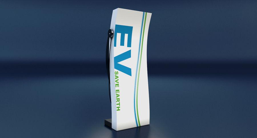 Carregador de Veículo Elétrico royalty-free 3d model - Preview no. 5