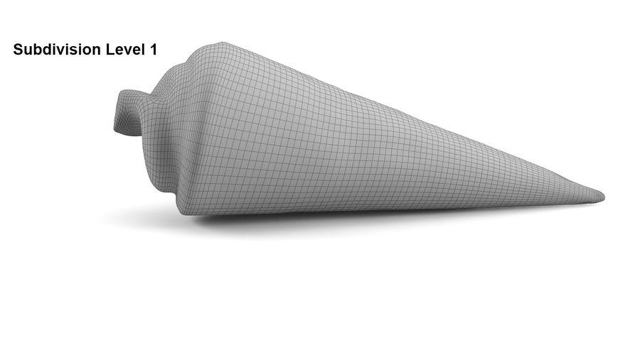 Ice Cream Cones royalty-free 3d model - Preview no. 15