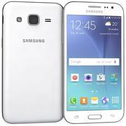 三星Galaxy J2白色 3d model