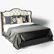 Councill Clara Tufted Bed 3d model