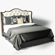 Councill Clara Tufted Bed 3d model