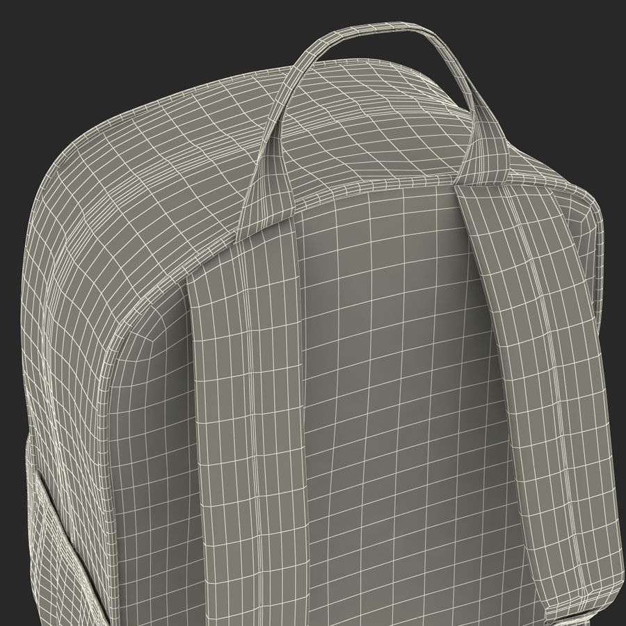 Backpack 9 royalty-free 3d model - Preview no. 36