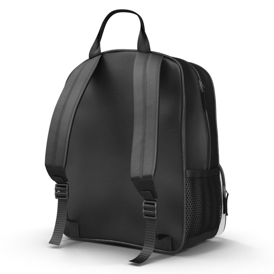 Backpack 9 royalty-free 3d model - Preview no. 6