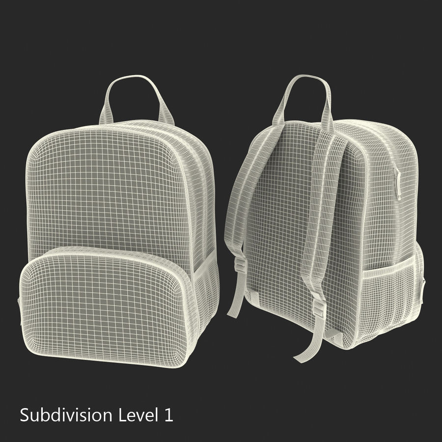 Backpack 9 royalty-free 3d model - Preview no. 17