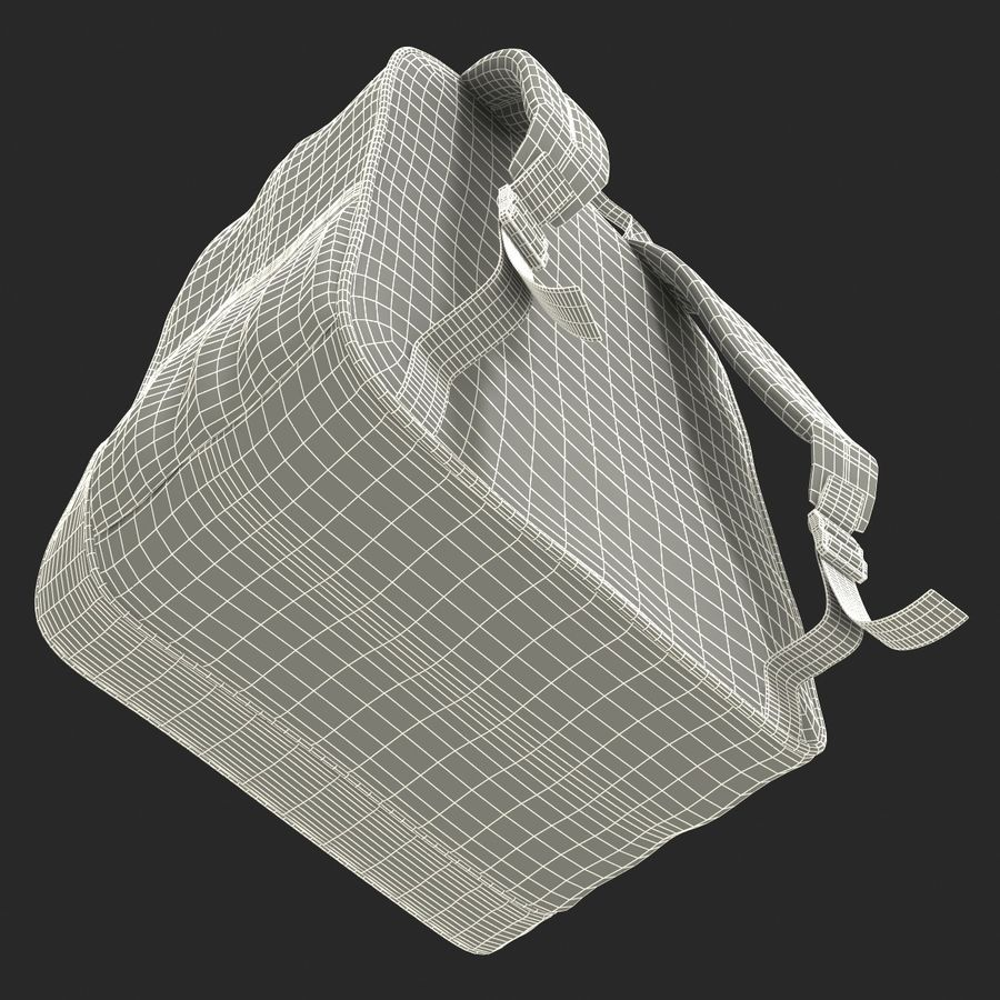 Backpack 9 royalty-free 3d model - Preview no. 30