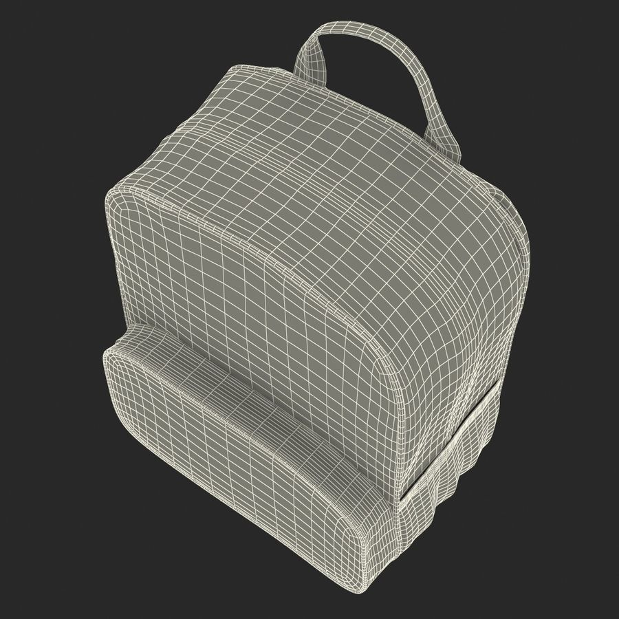Backpack 9 royalty-free 3d model - Preview no. 29