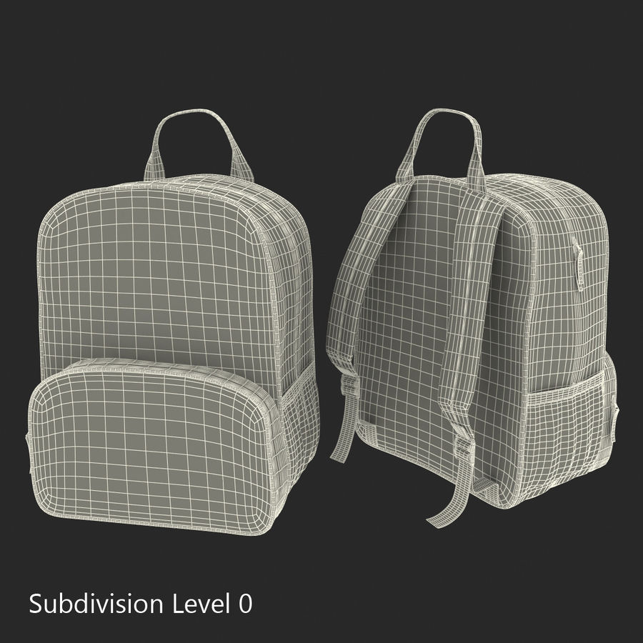 Backpack 9 royalty-free 3d model - Preview no. 16
