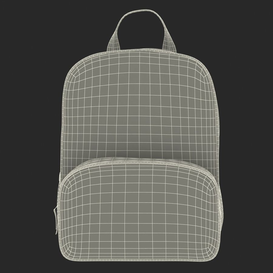 Backpack 9 royalty-free 3d model - Preview no. 24