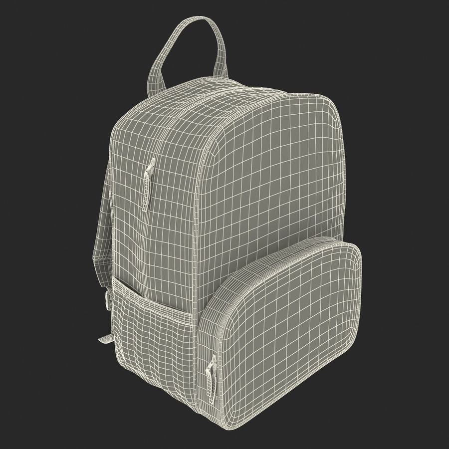 Backpack 9 royalty-free 3d model - Preview no. 26