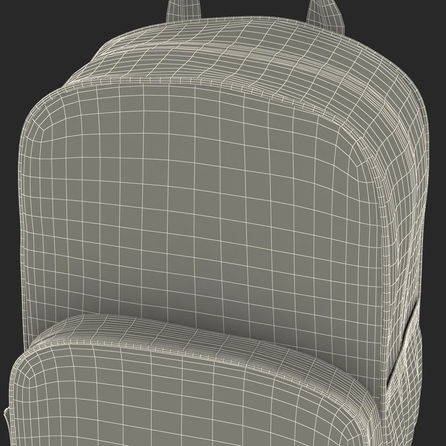 Backpack 9 royalty-free 3d model - Preview no. 34