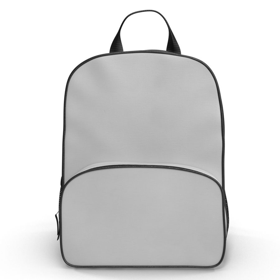 Backpack 9 royalty-free 3d model - Preview no. 4