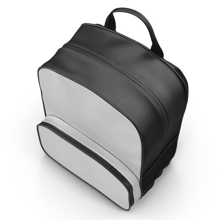 Backpack 9 royalty-free 3d model - Preview no. 8