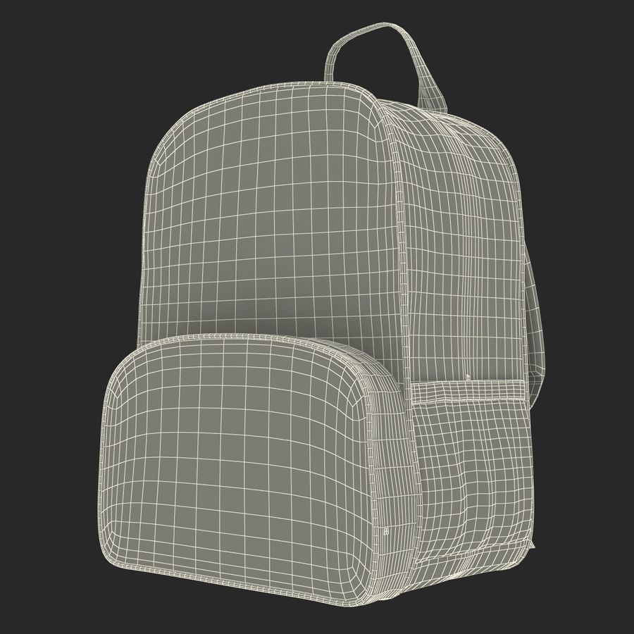 Backpack 9 royalty-free 3d model - Preview no. 25