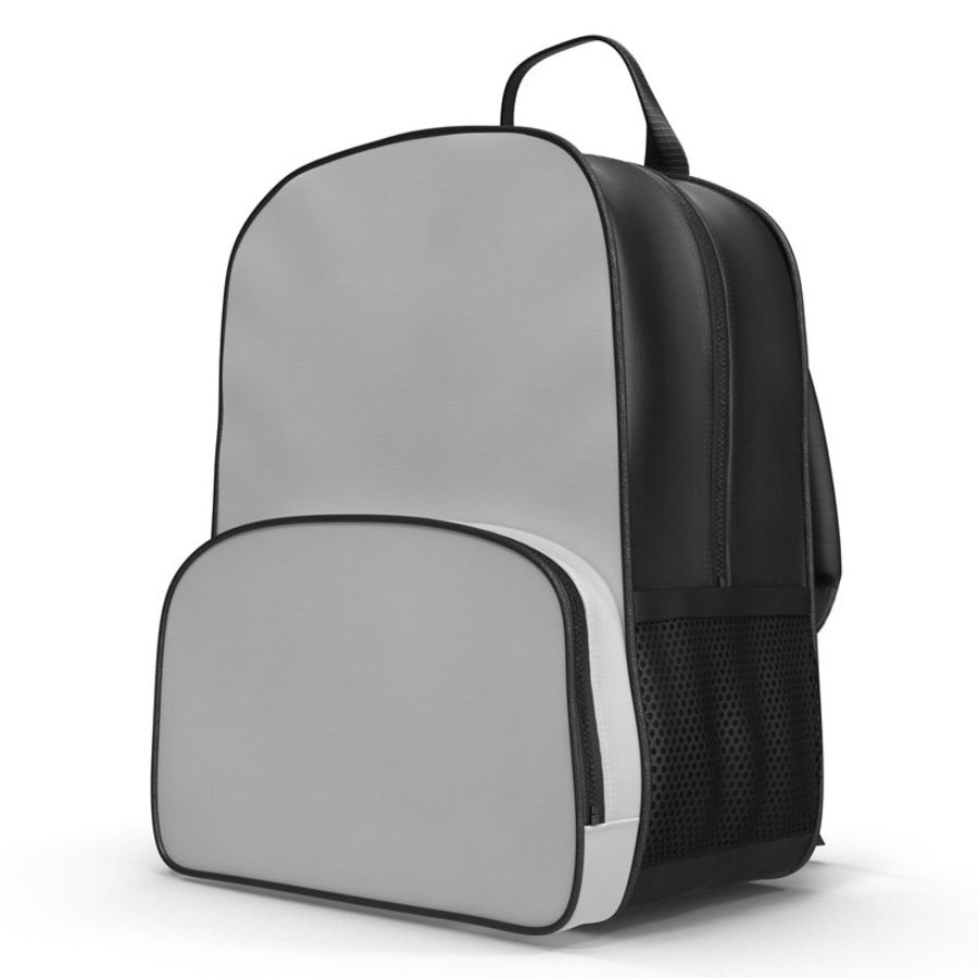 Backpack 9 royalty-free 3d model - Preview no. 2