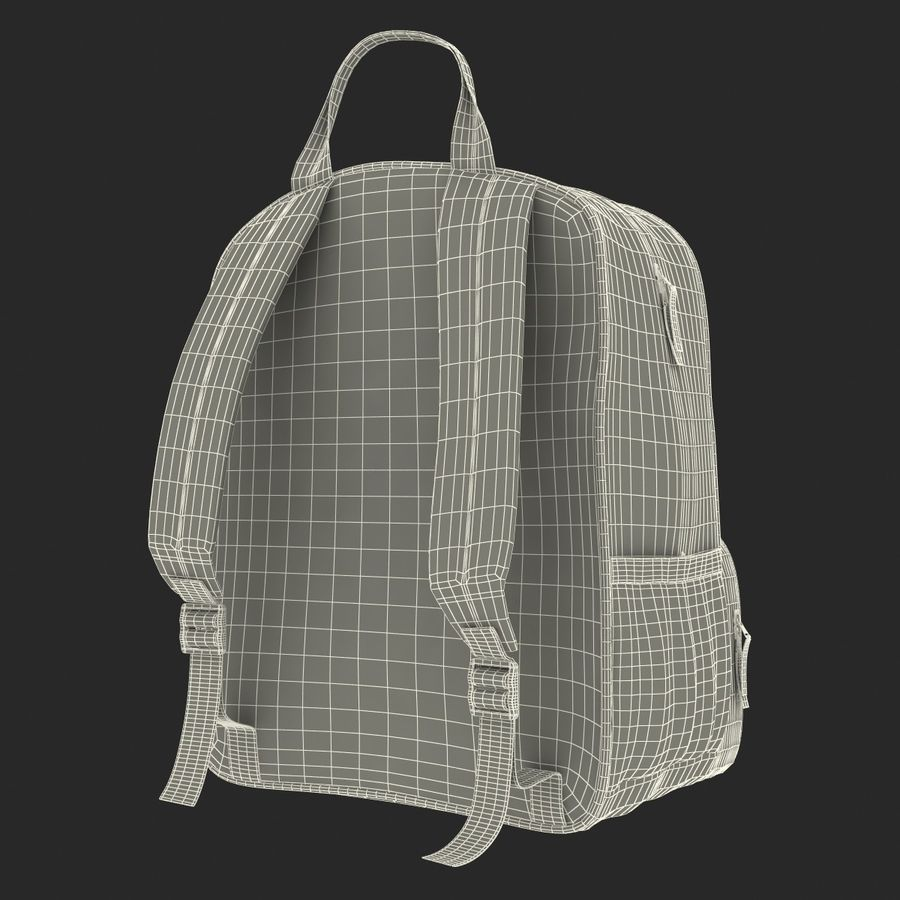 Backpack 9 royalty-free 3d model - Preview no. 27