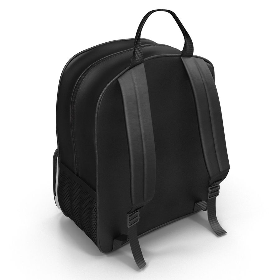 Backpack 9 royalty-free 3d model - Preview no. 7