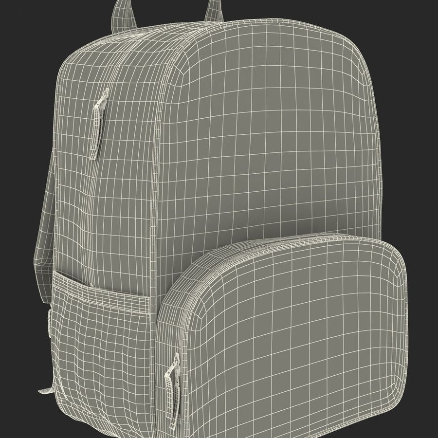 Backpack 9 royalty-free 3d model - Preview no. 31