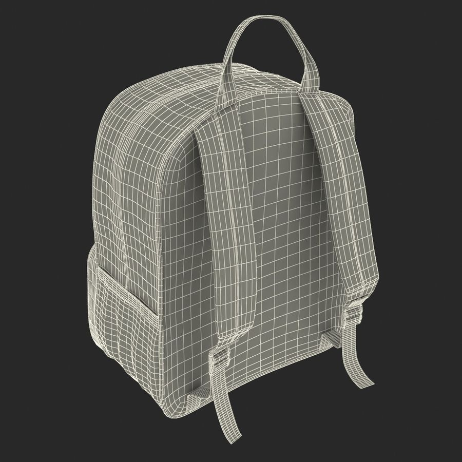 Backpack 9 royalty-free 3d model - Preview no. 28