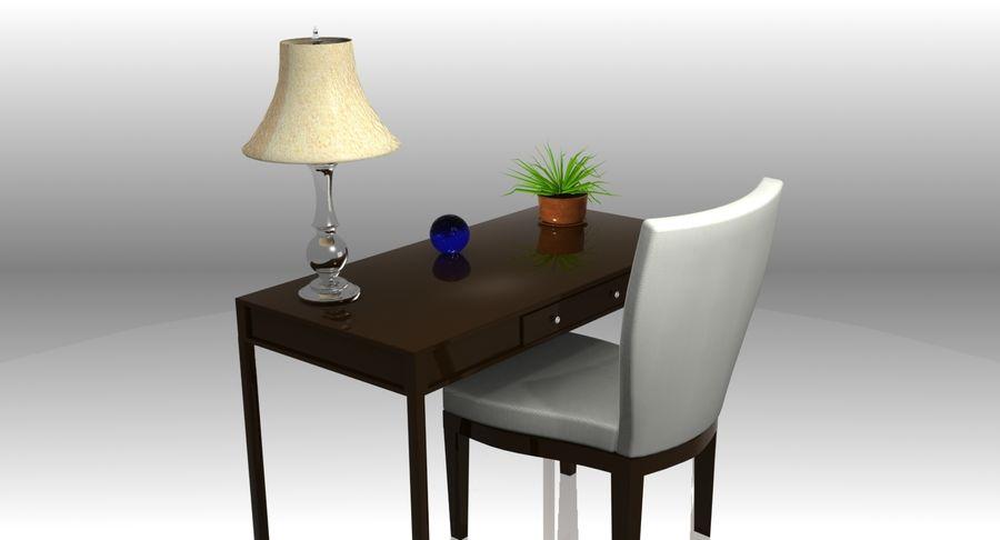 Desk Set royalty-free 3d model - Preview no. 4