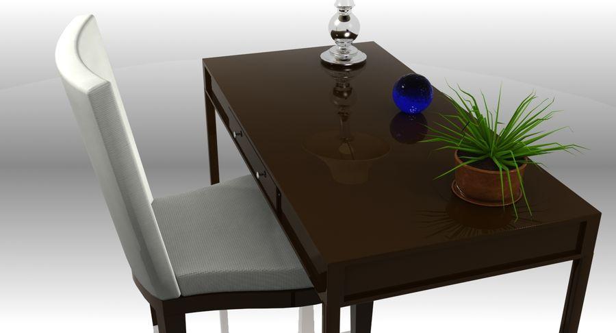 Desk Set royalty-free 3d model - Preview no. 7