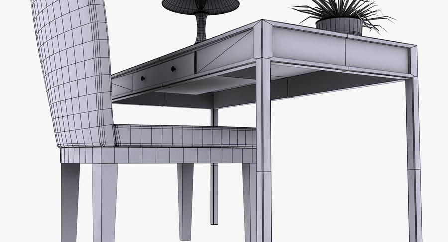 Desk Set royalty-free 3d model - Preview no. 18