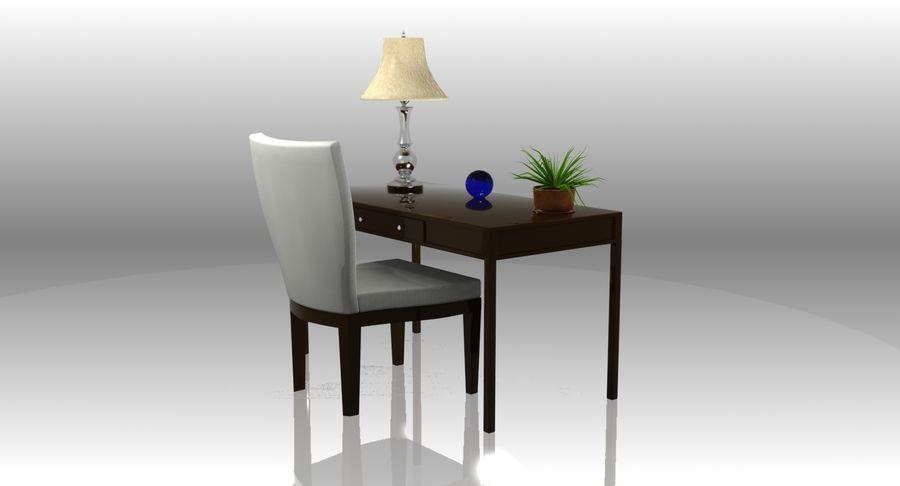 Desk Set royalty-free 3d model - Preview no. 3