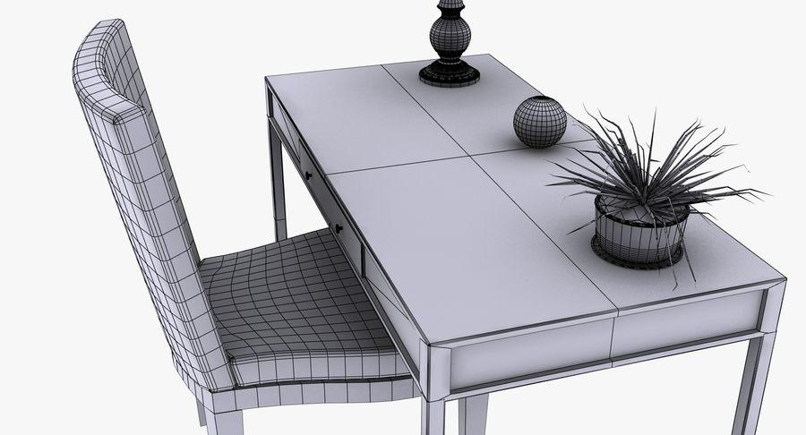 Desk Set royalty-free 3d model - Preview no. 16