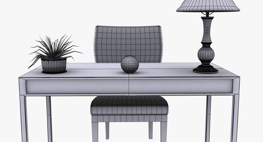Desk Set royalty-free 3d model - Preview no. 15