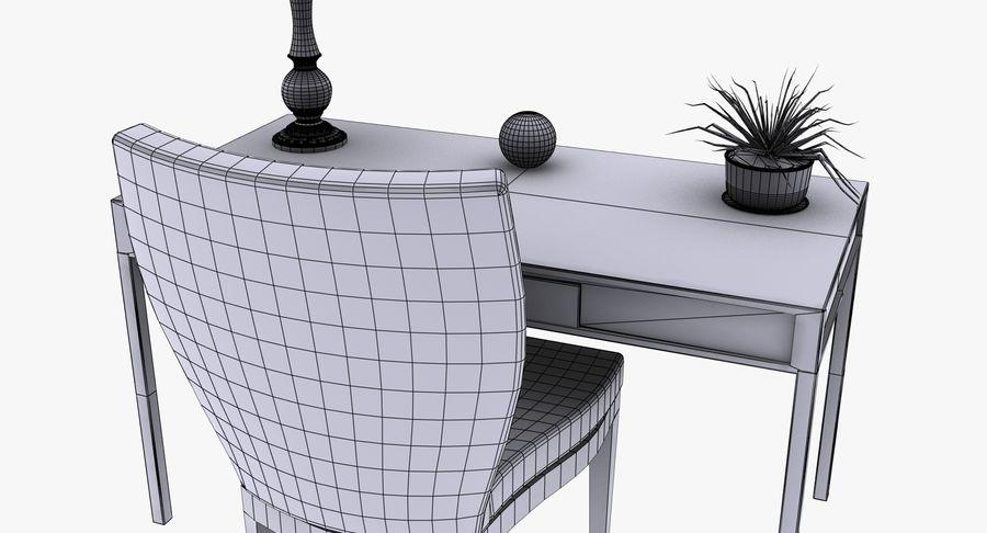 Desk Set royalty-free 3d model - Preview no. 17