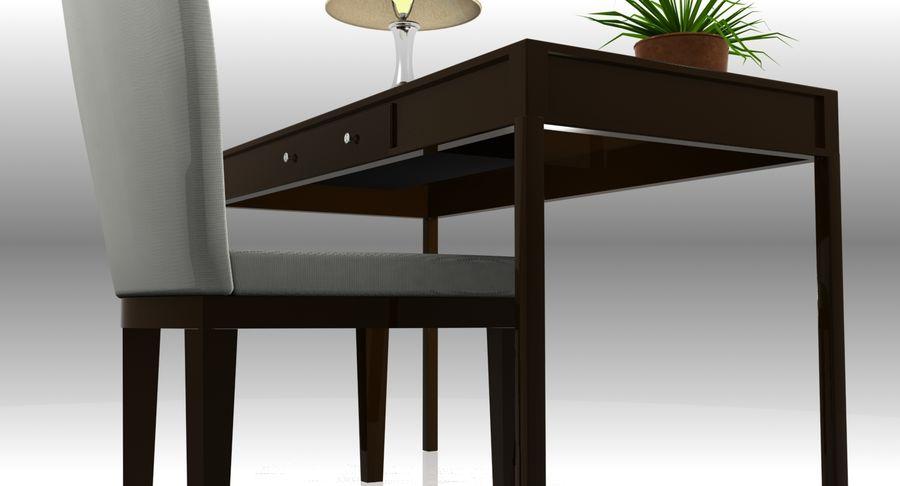 Desk Set royalty-free 3d model - Preview no. 9